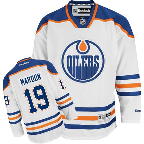 info for f5e83 a76e4 Mens Reebok Edmonton Oilers 19 Patrick Maroon Authentic ...